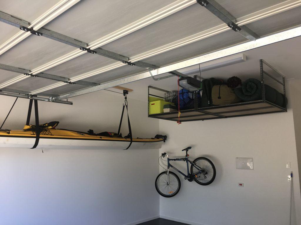 watch hoist kayak storage youtube garage